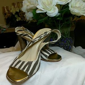 Kate Spade ladies heeled sandal